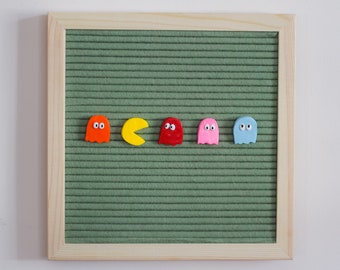 PACMAN Inspired Letter Board Accessories // Letter Board Icons // Gift Ideas // Video Games