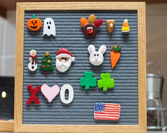 HOLIDAY Letter Board Assortment Pack // Letter Board Icons and Accessories // Home Decor // Holiday Decor // Gift Ideas //  Stocking Stuffer