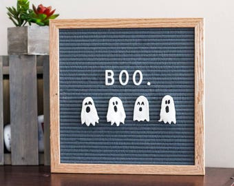 HALLOWEEN Letter Board Ornaments (Pack of 4- GHOSTS) // Letter Board Accessories // Fall Decor