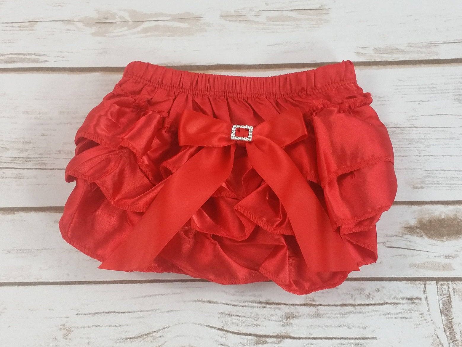 e97938195c RED DIAPER COVER Red Baby Bloomers Ruffle Diaper Cover Baby