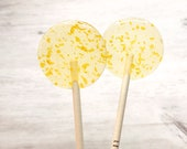 Champagne Lollipops // Gold Flake Lollipops // Fall Wedding Favor // Favors for Guest // Bridal Shower Favor // 20 Count Box