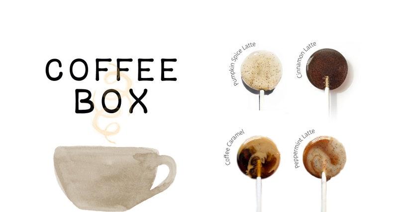 Coffee Favors // Coffee Lollipops // Rustic Wedding Favor // image 0
