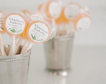 Wedding Favor Sampler // Lollipop Sampler Box // Wedding Favor Taste Test // 10 Lollipops