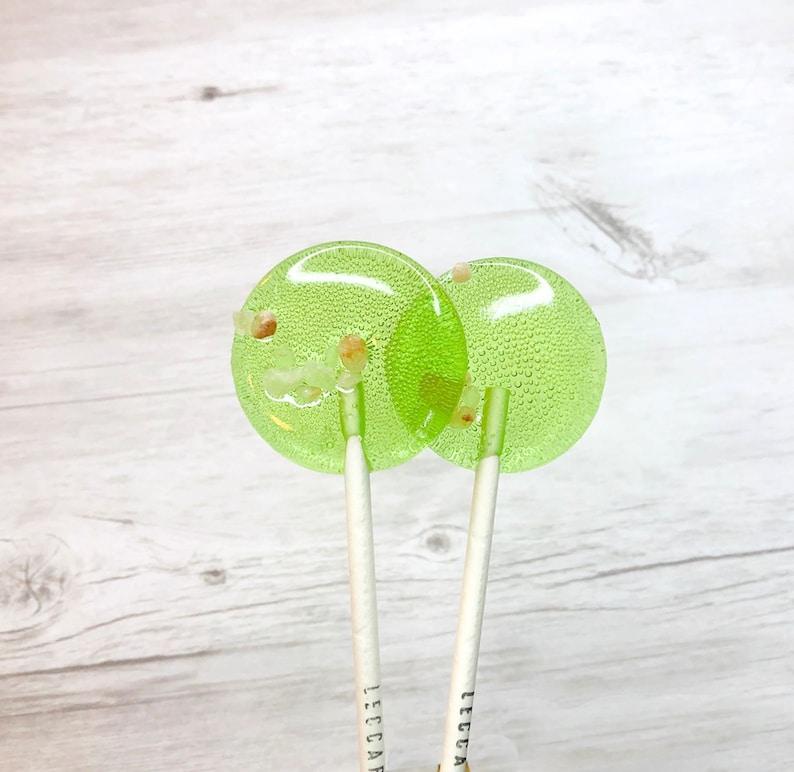Bulk Wedding Favors // Salted Apple Caramel Lollipops // Favors for Guest  // Party Lollipops // 20 Lollipops