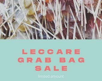 Sample Sale, Lollipop Mix Box // 30 Lollipops // Leccare Lollipop Grab Bag // Sampler Box