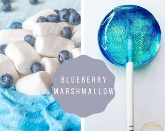 Blueberry Marshmallow  Lollipops // Swirl Lollipops // Fall Wedding Favors // Spring Wedding // Summer Wedding Favor // Leccare // 10 count