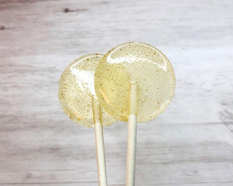 Honey  Lemon  Ginger Lollipops // Sweet and Savory Candy // image 0