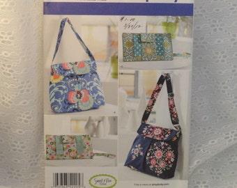 Sewing Pattern for Shoulder Bag Purses Wristlets New in Original Envelope