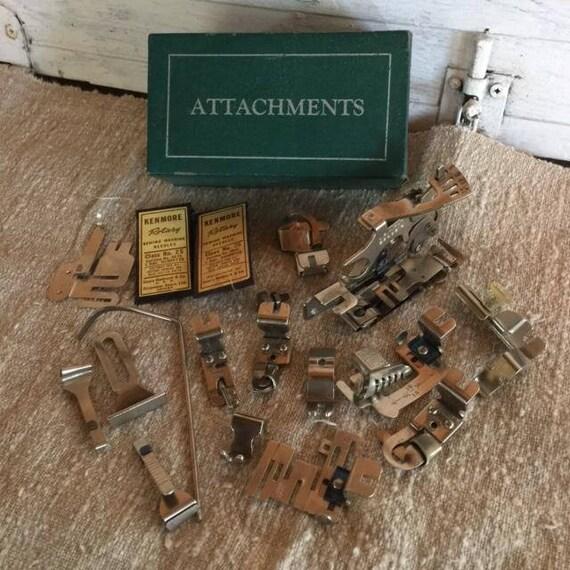 Greist Sewing Machine Attachments Vintage Sewing Machine Etsy Simple Parts Of Old Sewing Machine