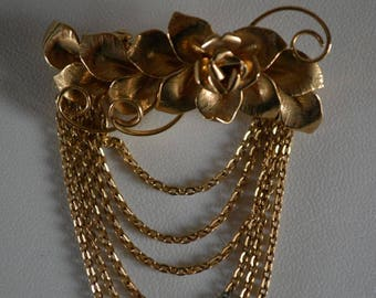 Brooch or hat pin, costume jewelry