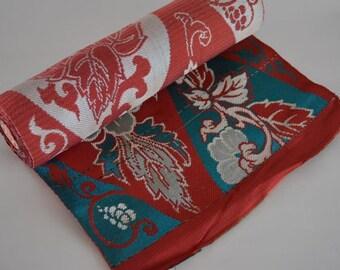 Obi fabric, kimono sash, vintage Japanese obi sash