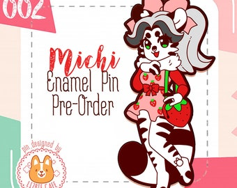 LE Michi Pin (by LizbieCafe)
