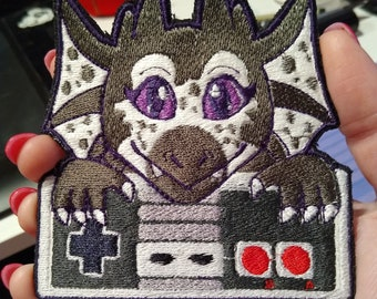 Game Controller Custom Embroidered Patch
