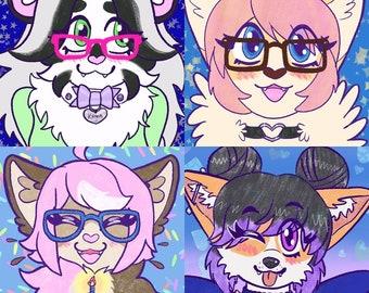 Furry Icon Commission (digital)