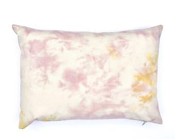 Marble Design Blush Pink Pillow   Lumbar Pillow 14 x 20 Pillow Cover Plush Pink Pillow, Bohemian Cushion Cover