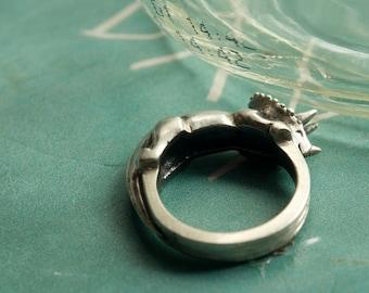 Triceratops Ring