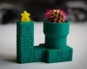 Venus Fly Trap Super Mario Warp Pipe Self Watering Planter   Plant Pot   Pot Planter   Planter Pot