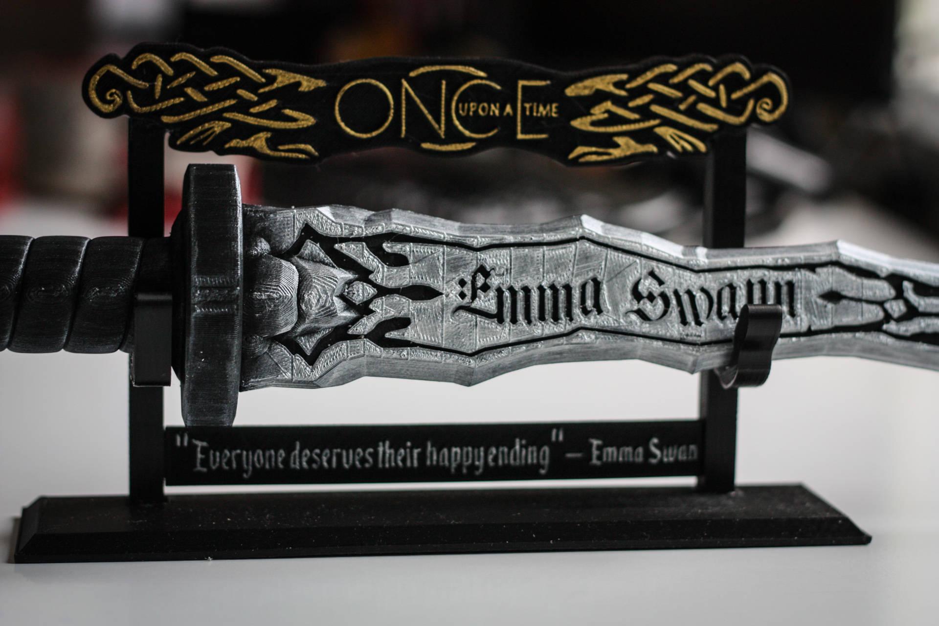 Dark e Dagger Customizable Name Personalised