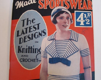1930s Knitting Pattern Book 48 pages - pdf