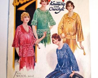 1920s Knitting Pattern Book 'Weldon's'   pdf book   1923