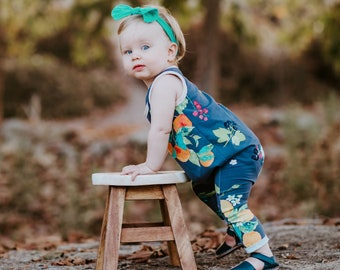 "Bohemian Babies ""Fruit and Flower"" Romper"