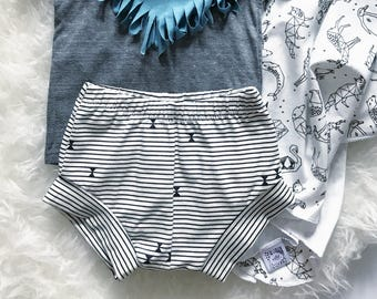 Bohemian Babies Sailor Stripe Shorties