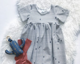 Bohemian Babies Sailor Stripe Dress