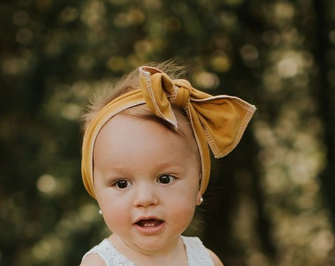 Featured listing image: Bohemian Babies Solid Head Wrap//10 Colors Available