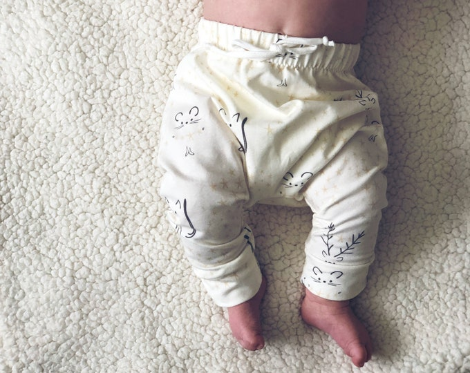 "Featured listing image: Bohemian Babies ""Winter Twilight"" Baby Pants"