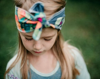 "Bohemian Babies ""Fruit and Flower"" Head Wrap"