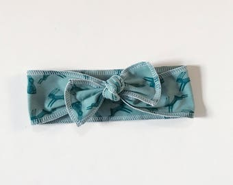 "Bohemian Babies ""Hopping Hare"" Head Wrap"