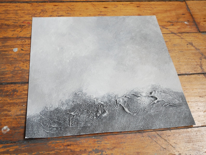 Original One-Off Painting on Paper Salvaging the Darktime