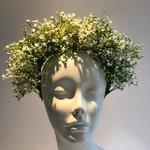 Babys breathe Headband - Bridal Headpiece -Boho Bride