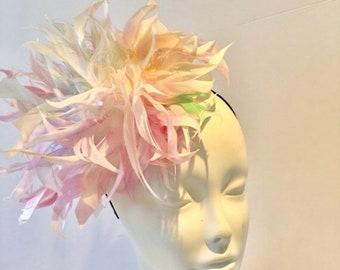 9b88a8ef170ab Derby Fascinator- Easter- Pastel Feather headdress
