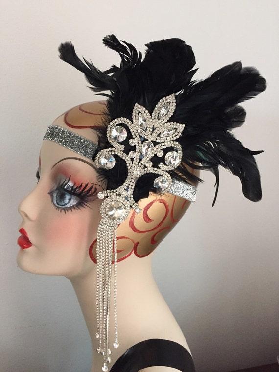 Great Gatsby Headband 1920s headpieces Gatsby Headpiece  597271dece3
