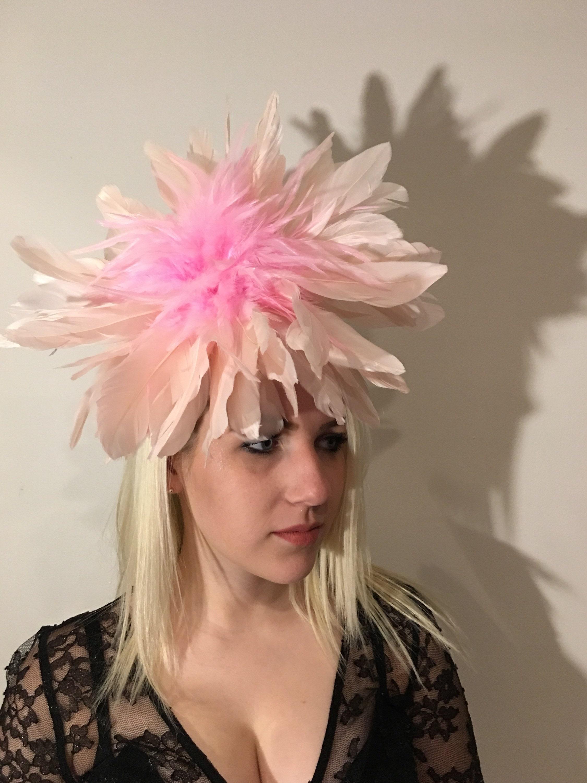 Wedding Fascinators Ladies Hats pink  243ceb2379f