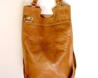 4596fe0b3 MI-VIDA. Foldover bag / crossbody bag / foldover purse / mustard leather bag  / bohemian leather bag. Available in different leather colors.