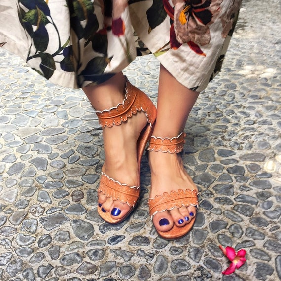 BUDDHA Sizes 35-43 Brown leather sandals  women shoes  leather shoes  barefoot leather sandals Available in different leather colors