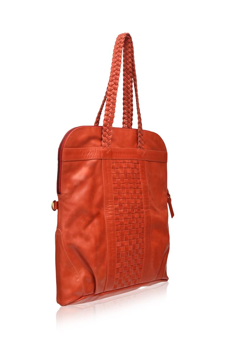 MARBELLA. Red leather crossbody bag   foldover purse    573e00219a87c