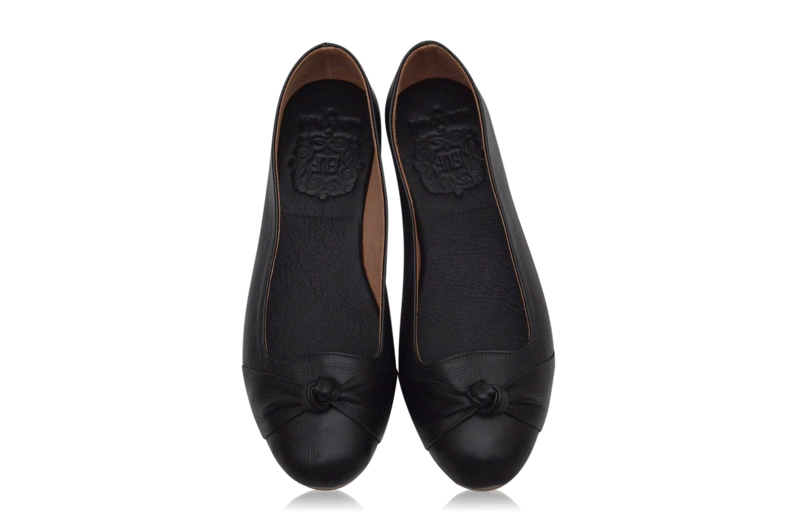 panama. black shoes / leather ballet flats / women shoes / black leather flats / women flats. sizes 35-43. available in differen