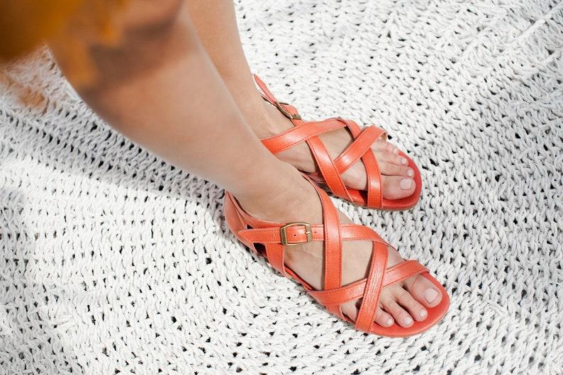 SALE. Sz. 8. TE AMO. Leather sandals size 8 leather shoes women shoes boho shoes size 8 greek sandals gladiator size 8