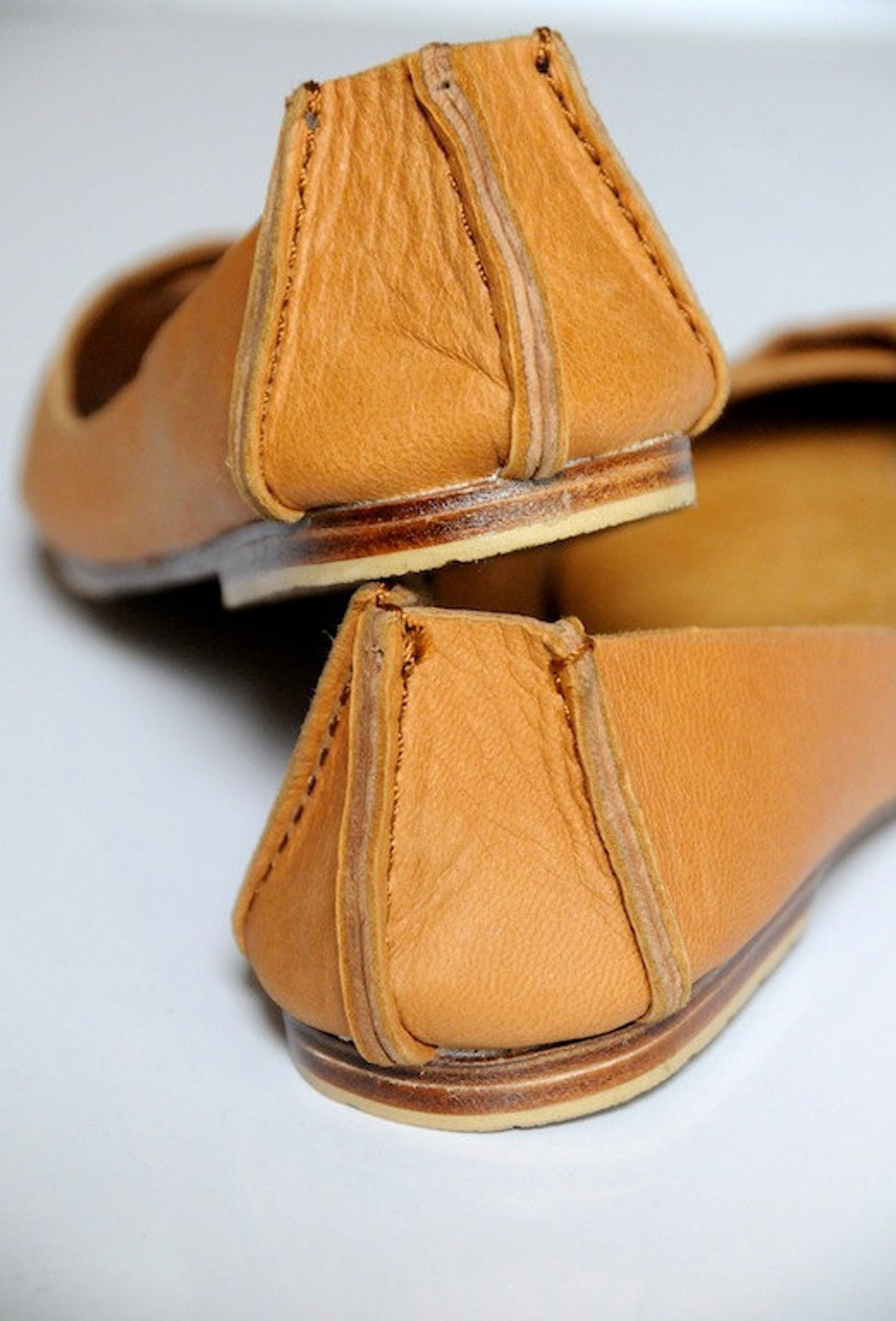 native. leather ballet flats / womens shoes / flat shoes / rustic / leather shoes. sizes us 4-13. available in different leather