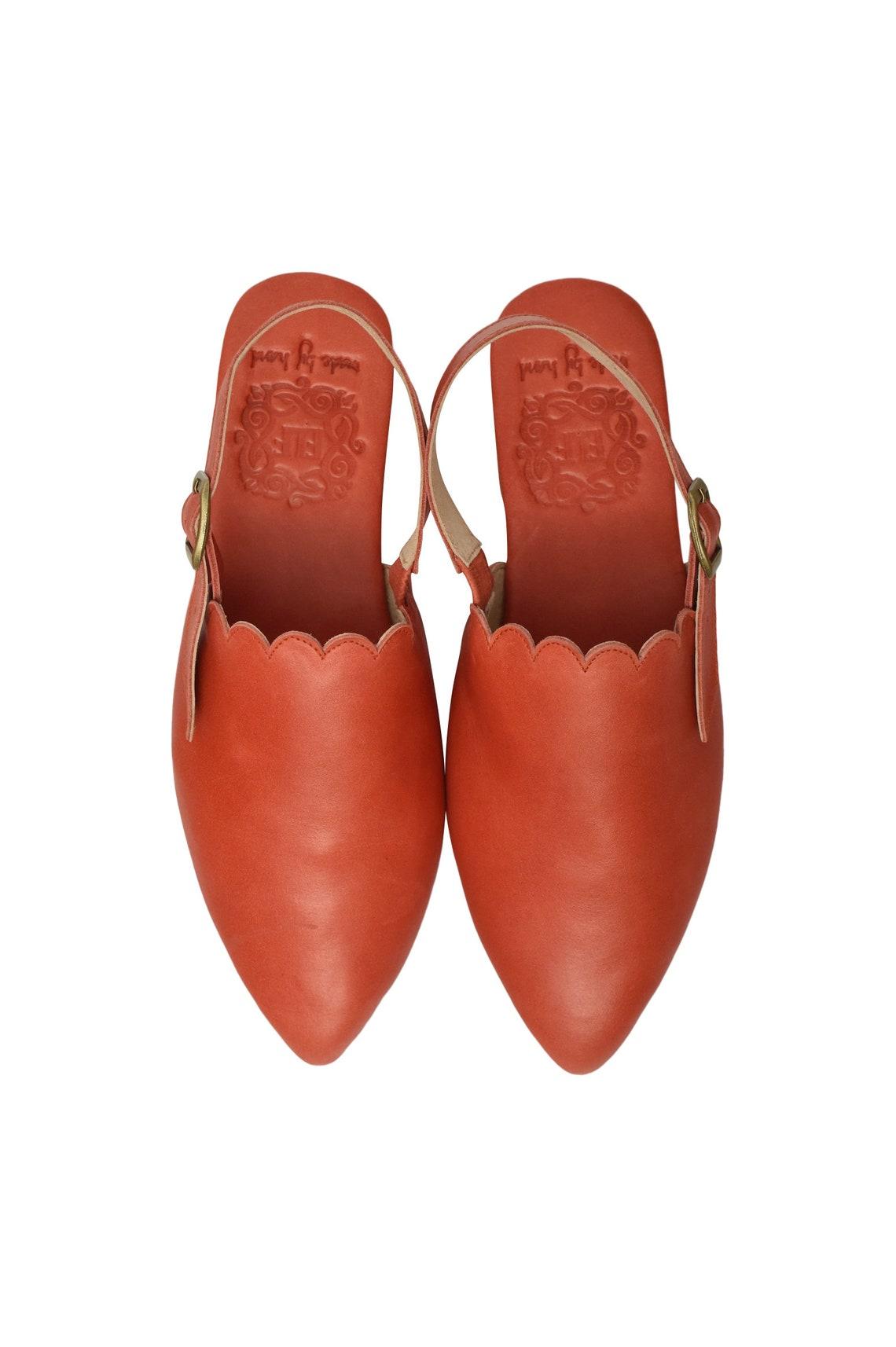 Venta. Tamaño 9.5. Caribe.  sandalias planas de cuero. | zapatos de cuero descalzos ? mocasinas de mujer sandalias rojas
