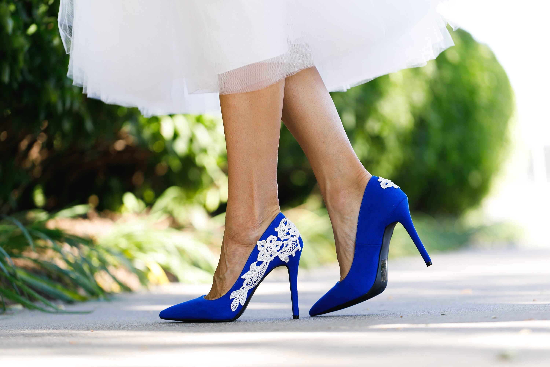 afa8d45be6ae Blue Wedding Shoes for BrideHigh HeelsBridal