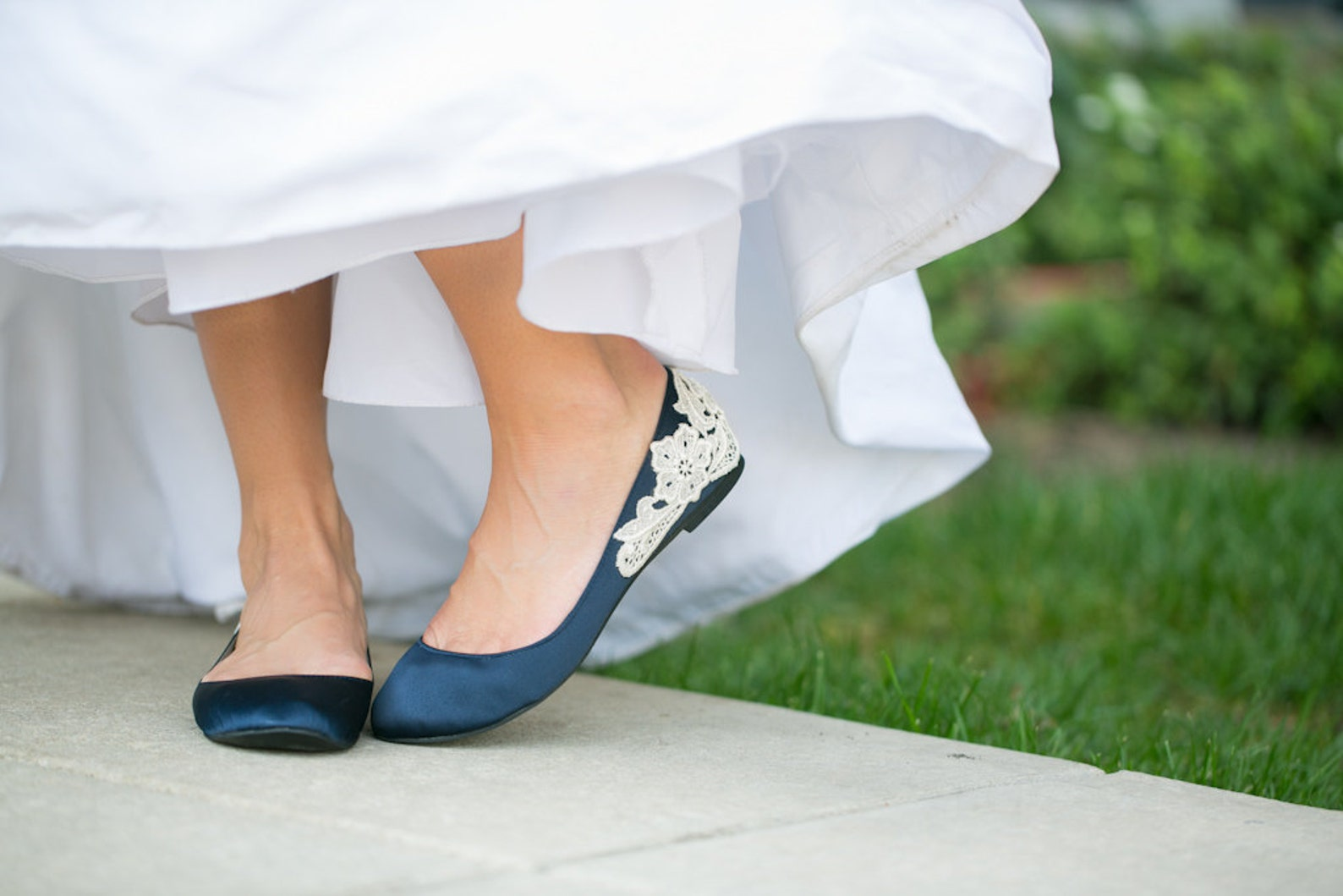 wedding flats,navy blue wedding shoes,ballet flats,bridal flats,navy flats,blue flats,navy satin flats,bride,bridal shoes with i