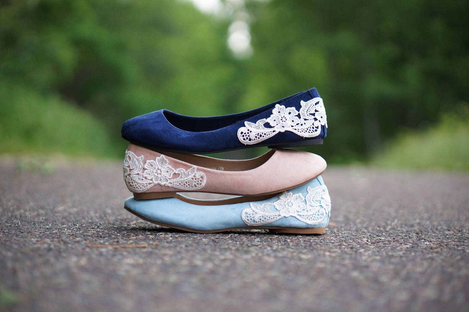 navy blue bridal ballet flats,wedding shoes,low wedding shoes,navy wedding flats,navy flats,bridal shoes,gift,blue flats with iv