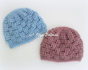 Preemie Crochet Hat Pattern Baby Hat Pattern Instant Pdf Etsy