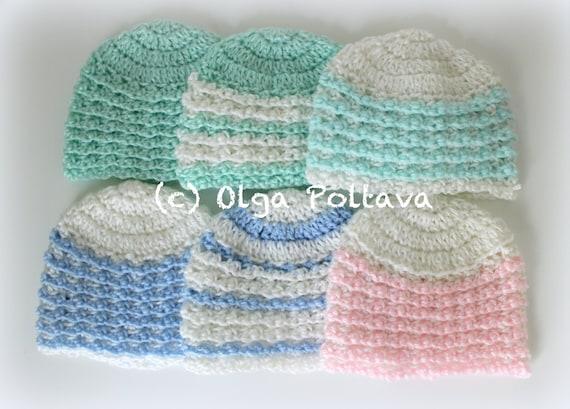 Charity Newborn Hat Crochet Pattern Easy Crochet Pattern Etsy