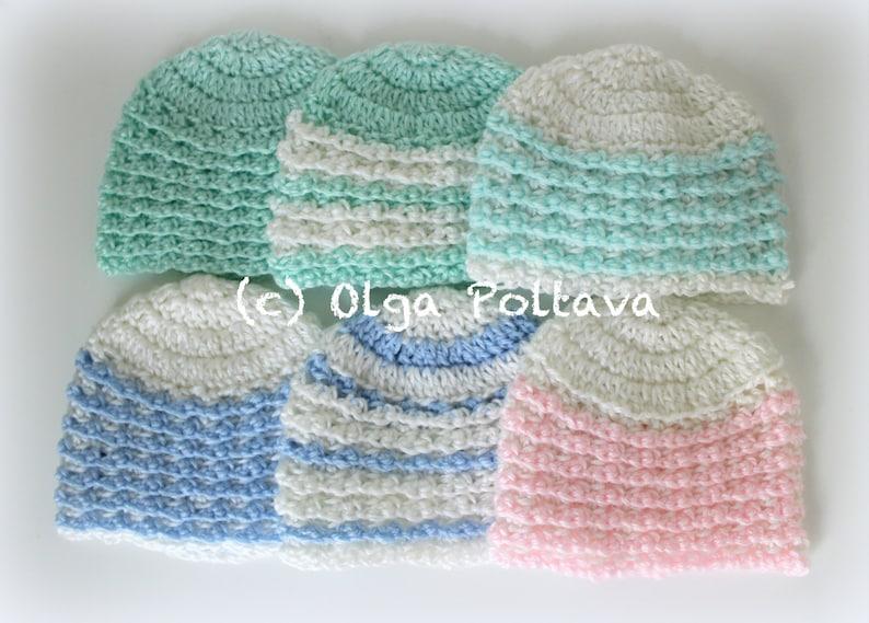 Charity Newborn Hat Crochet Pattern Easy Crochet Pattern  f2fda64e04c