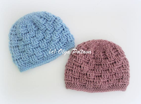 Preemie Baby Hat Crochet Pattern Premature Baby Beanie Easy  a45ba7dffe1
